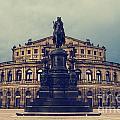 Opera House In Dresden by Jelena Jovanovic