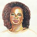 Oprah Winfrey by Emmanuel Baliyanga