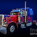 Optimus Prime Blue by Steve Purnell
