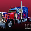 Optimus Prime Red by Steve Purnell