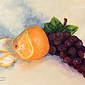 Orange And Grapes by Torrie Smiley