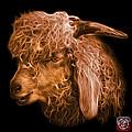 Orange Angora Goat - 0073 F by James Ahn