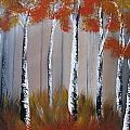 Orange Birch One Piece by Mandy Joy