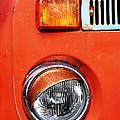 Orange Camper Van by Mark Rogan