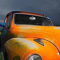 Orange Car by Brandon Hirt
