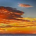 Orange Clouds by Kristina Deane