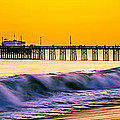 Orange County Panoramic Sunset Picture by Paul Velgos