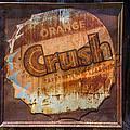 Orange Crush Sign by Garry Gay