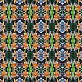 Orange Day Lily Design by Nicki Bennett