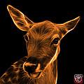 Orange Deer - 0401 F by James Ahn