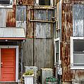 Orange Door by Bill Gallagher