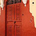 Orange Doors by Renee Friedel