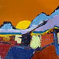 Orange Evening by Kimberly Maxwell Grantier
