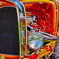 Orange Ford by Ron Roberts