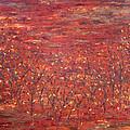 Orange Forest by Kim Wild