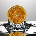 Orange Freshsplash by Steve Gadomski