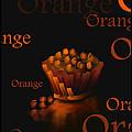 Orange - Fruit And Veggie Series -  #23  by Steven Lebron Langston