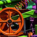 Orange Gear by Garry Gay