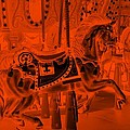 Orange Horse by Rob Hans