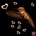 Orange Hummingbird - 2055 F M by James Ahn