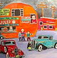 Orange Julep Trucks Montreal Memories by Michael Litvack