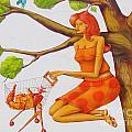 Orange Olga by Keri West