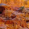 Orange Rock Formation by Jeff Swan