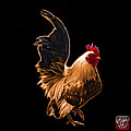 Orange Rooster Pop Art - 4602 - Bb - James Ahn by James Ahn