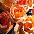 Orange Roses by Lyn Pacific