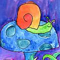Orange Snail by Nick Abrams Age Twelve