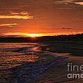 Orange Sunrise Virginia Beach by Jeff Breiman