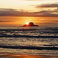 Orange Sunset by Brittany Elliott