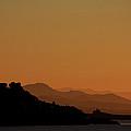 Orange Sunset by Cedric Darrigrand
