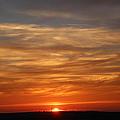 Orange Sunset by Kevin Struble