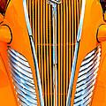 Orange Terraplane by Carolyn Marshall