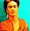 Orange You Glad It Is Frida by Michelle Dallocchio