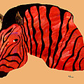 Orange Zebra by Andrew Petras