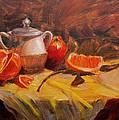 Oranges by Elena Sokolova