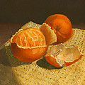 Oranges Still Life by Dominic White