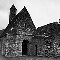 Oratory Known As St Kevins Kitchen Glendalough Monastery County Wicklow Republic Of Ireland by Joe Fox