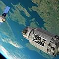 Orbital Maintenance Docking by Walter Myers