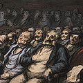 Orchestra Seat by Honore Daumier