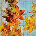 Orchid Drapes by Sonali Gangane
