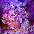 Orchid Goddess by Carol Cavalaris