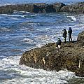 Oregon Coast Fishermen by Gary Olsen-Hasek