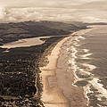 Oregon Coast From Above by Scott Rackers
