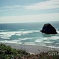 Oregon Coast Ghost Surfer by June Hatleberg Photography