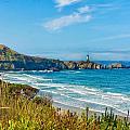 Oregon Coast Lighthouse by John M Bailey