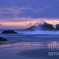 Oregon Coast Sunset by Chris Scroggins