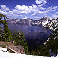 Oregon Crater Lake  by Anonymous